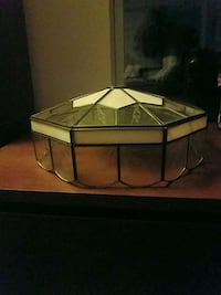 white and gold lamp shade Owings Mills, 21117