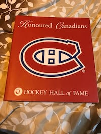 Montreal Canadiens HOCKEY HALL of FAME Book