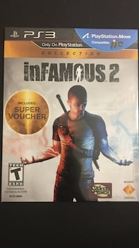 Infamous 2 ps3 Montgomery Village, 20886