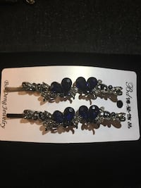Silver and blue hair accessory Fancy pin Arlington, 22203