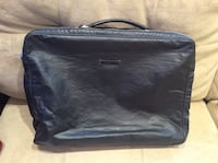 Black  Jean Paul Gauthier calf leather laptop bag Toronto, M6S