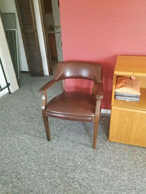 Office chairs (two)