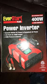 black and red EverStart power inverter box Louisville, 40215