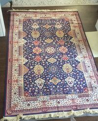 Hand made. Hand knotted. One of a kind rug. Whitby, L1R 1R2