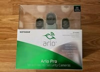 Brand New 3 Arlo Pro Smart Home security camera  Chantilly, 20151