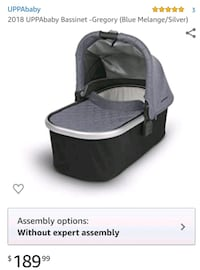 uppababy bassinet include stand Fairfax, 22030