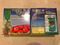 2 Topsy Turvy Tomato Planters Mississauga, L5M 0H9