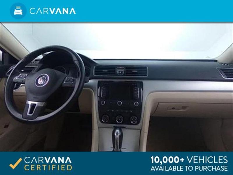 2013 VW Volkswagen Passat sedan 2.5L SE Sedan 4D White <br /> 15