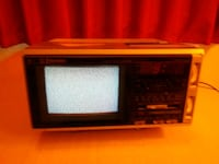 """1987 Emerson TO7 Boom Box / 7"""" Color TV - Works Gd Turlock, 95380"""