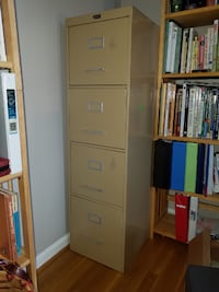 Four drawer metal file cabinet  Gaithersburg