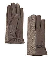 New leather men's gloves