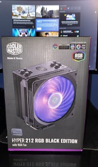 Hyper 212 RGB Black Edition with RGB Fan Montgomery Village, 20886