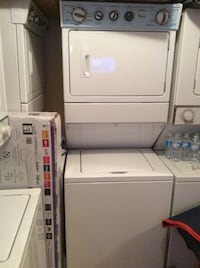 "27"" whirlpool stackable washer & dryer  Mississauga, L5K 1T4"