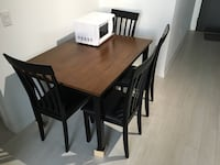 Dining Table & Chair Set Toronto, M2J 0E1