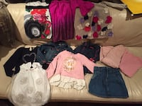 Fashionista wardrobe quality girls clothing size 4 and 5t