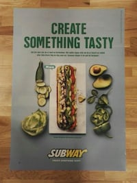 Retro subway plakat