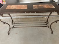 Wrought iron entry table  Midland, 79705
