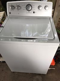white top-load clothes washer Bladensburg, 20710