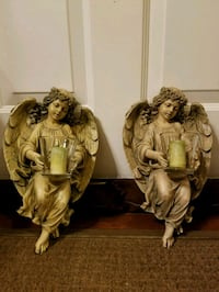 HOME INTERIORS ANGEL CANDLE HOLDER Columbia