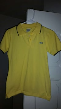yellow Lacoste polo shirt Alexandria