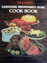 sharp carousel microwave oven cook book Los Angeles, 90026