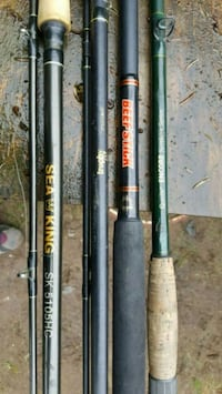 Fishing rods and reels Surrey, V3V 4T1