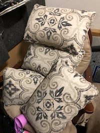 white and gray floral sofa chair Jacksonville, 28540