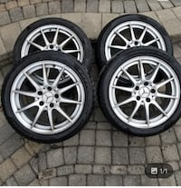 Snow rims and tires  Newmarket, L3X 1N5