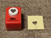 Craft Paper Punch / Punches / Punchers - Medium Heart Calgary