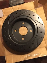 Rear aftermarket rotors and pads Albuquerque, 87110