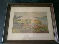 brown wooden framed painting of house Hayward, 94545