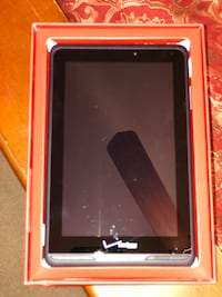 Black android tablet computer with box Triangle, 22172