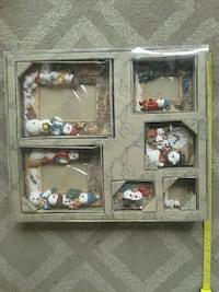 Box of Christmas themed picture frames Kelowna, V1Y