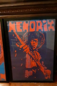 Jimi Hendrix wall art
