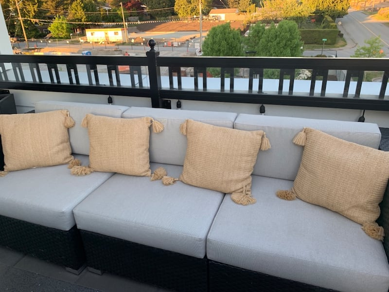 4 pillows from West Elm. Regular $45 each. All 4 for $60 7f2a3d54-9ea6-40cb-95e2-4fa5fc972200
