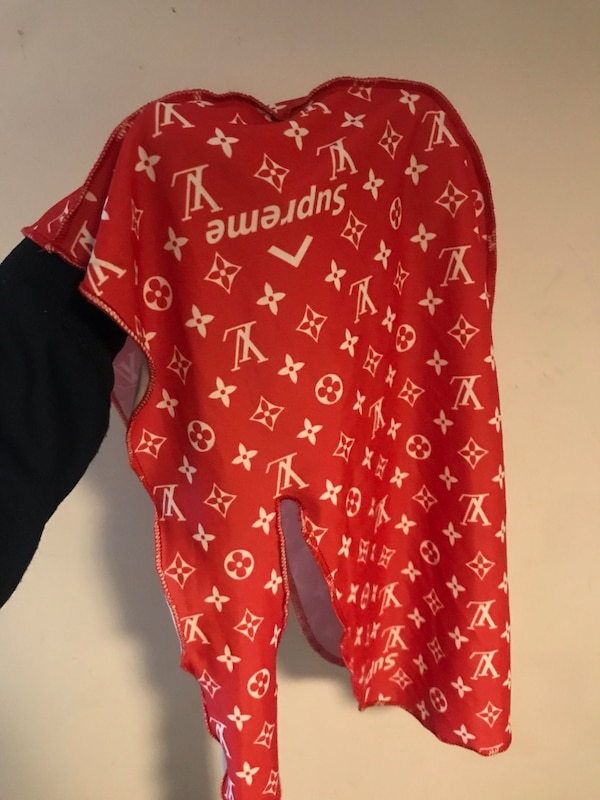 Used SUPREME X LOUIS VUITTON INSPIRED DURAG For Sale In New York