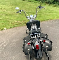 Leather Saddlebags'03 Harley Davidson 1450 CC