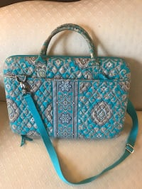 Vera Bradley laptop bag in Totally Turq Baltimore, 21230
