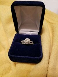 silver and diamond ring in box Woodbridge, 22192