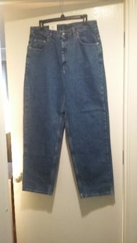 Member's Mark Relaxed Fit Medium Wash Blue Jeans - 34x30 Louisville