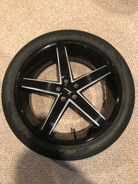 "22"" Rims and Tires Set Vienna, 22181"
