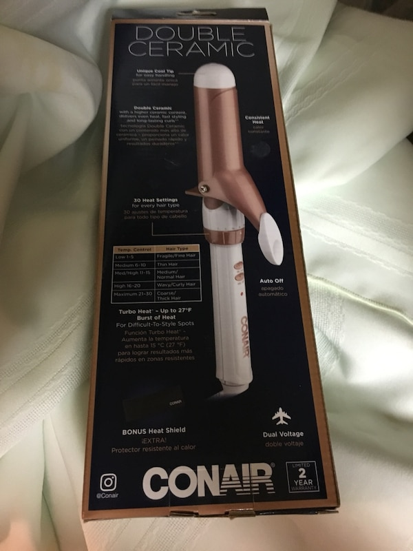NEW Conair curling iron
