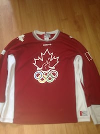 red and white Adidas jersey shirt Guelph, N1H 7L7