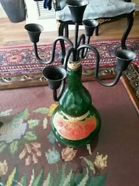 Vintage Rose Bela wine bottle