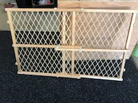 white and brown wooden safety gate Washougal, 98671