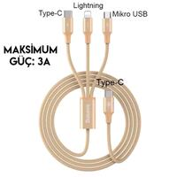Baseus rapid series type C 3 in 1 CABLE