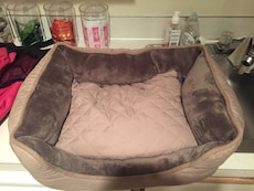 Small dog brown  pet bed