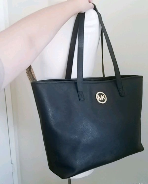 Michael Kors purse mk saffiano tote bag  1