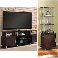 """70"""" TV Stand with Audio Tower  Combo $129  Houston, 77092"""