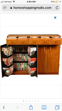 brown wooden desk with hutch Springfield, 22152